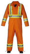 HI Visibility Coveralls And Overalls