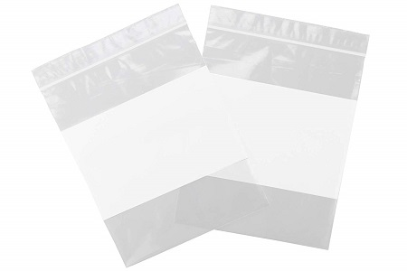 Poly White Block And Parts Bags
