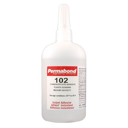 Cyanoacrylate ADH - 102- 1oz Bottle (refrigerate)