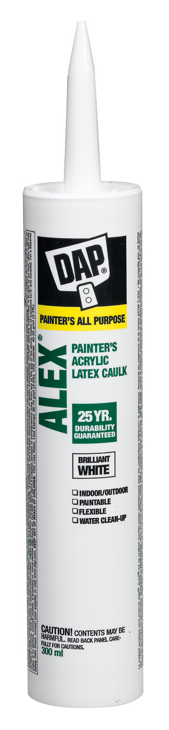Sealant - Painters Acrylic Latex Caulk 73635 - White Clear