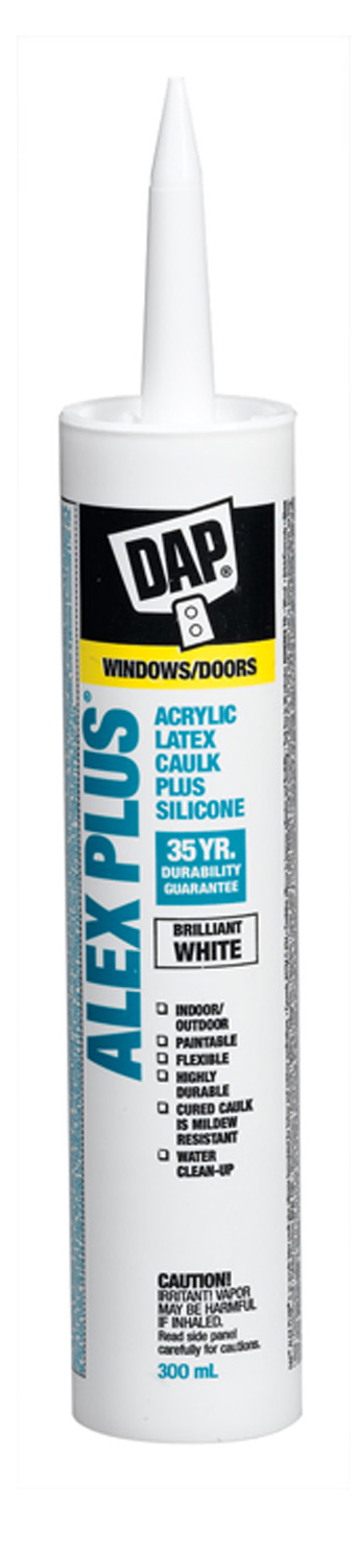 Sealant - All Purpose Acrylic Latex Caulk 74235 - White