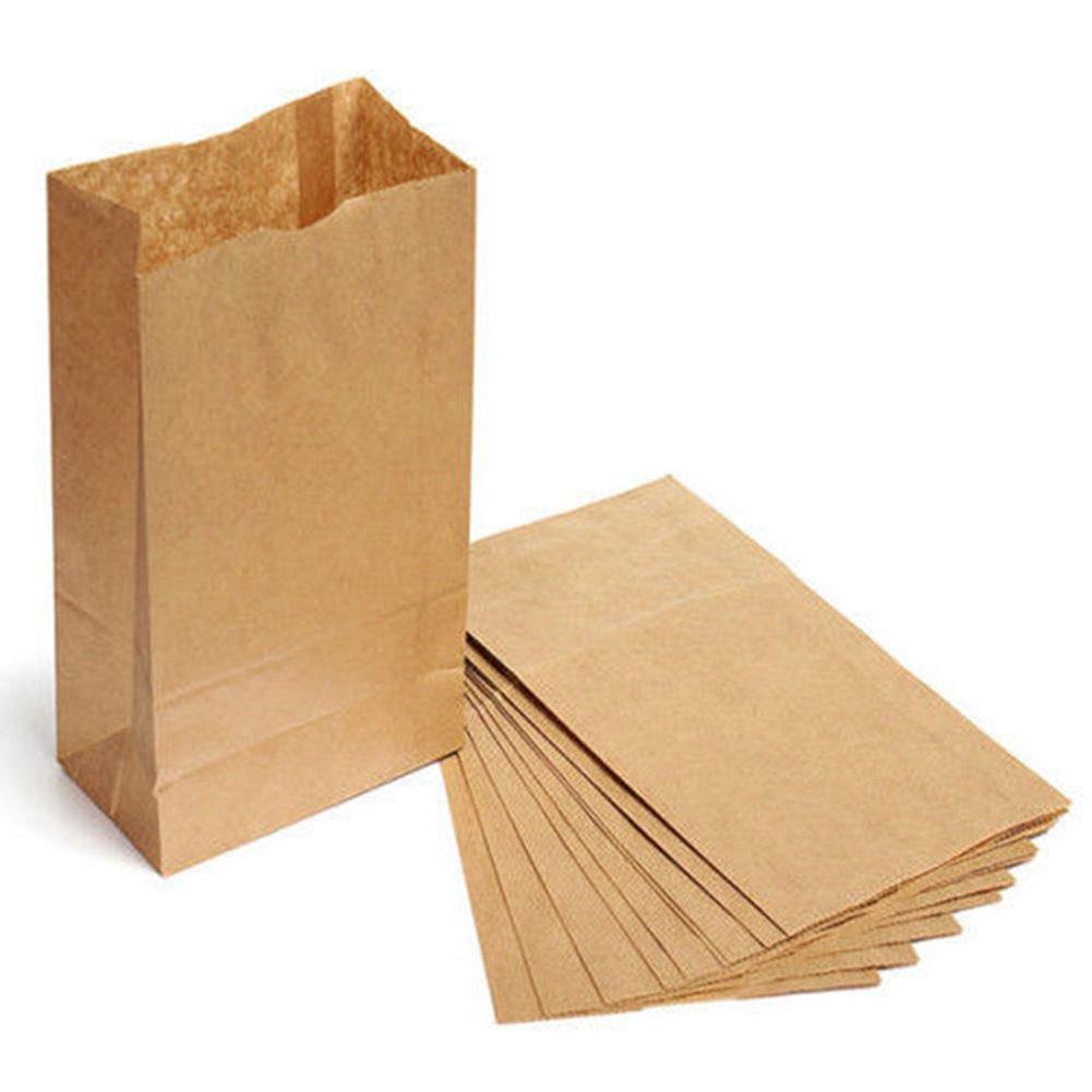 "Paper Bag - Flat Kraft - 5"" x 7"" (2000/bundle)"
