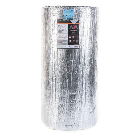 """Double Bubble Reflective Foil Insulation - 1/4"""" x 4' x 125'"""