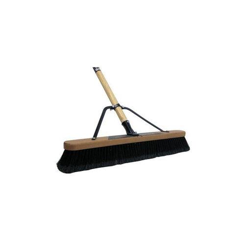 "Brooms - 24"" Warehouse Head & Handle 0624P"