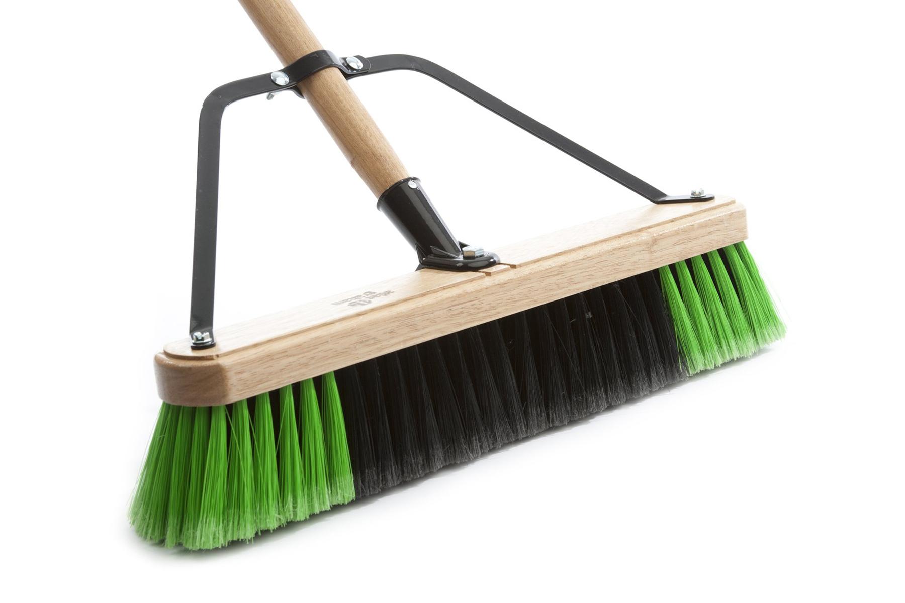 "Broom - 36"" Warehouse Soft - (Head, Brace, and Handle)"