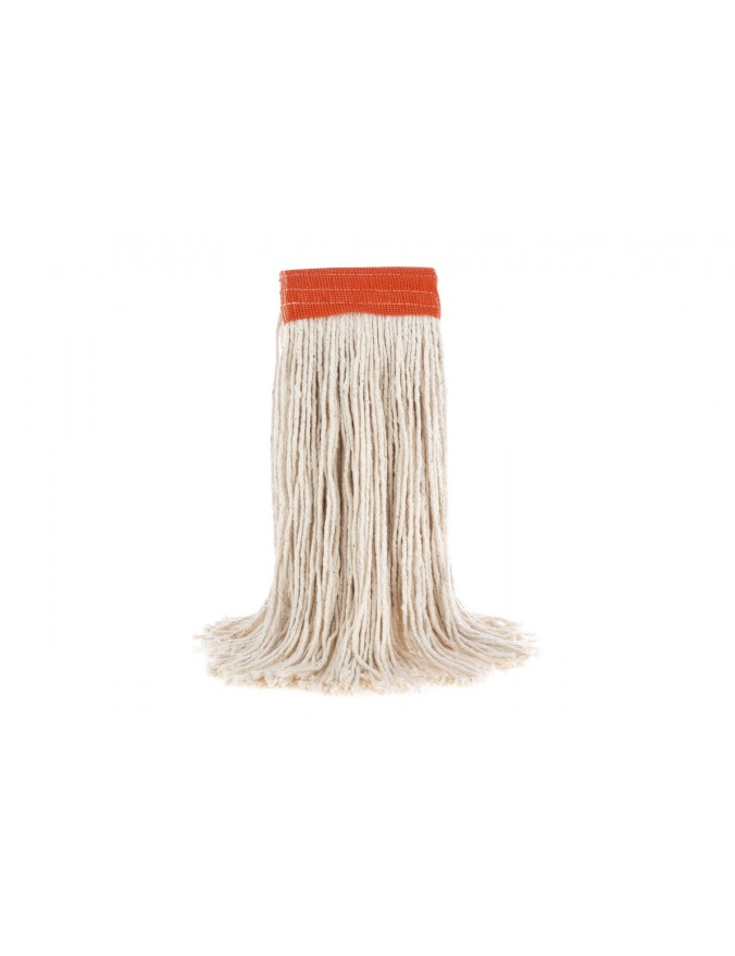 Wet Mop - Wide Band - White