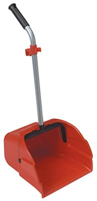 Big Dust Pan with handle - Red