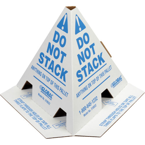 """Do Not Stack"" Pallet Cones (50/pkg)"