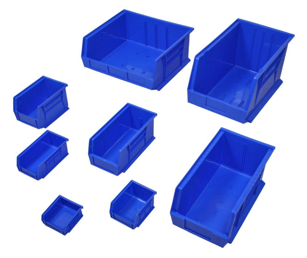 """Parts Bins - Blue - 4 1/8 x 7 3""""/8 x 3"""""""