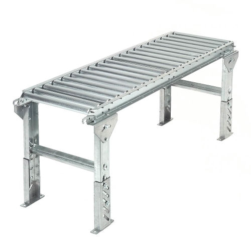 "Conveyor, Steel 1 3/8"" rollers x 10' section"