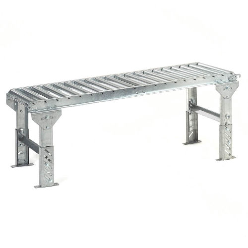 "Conveyor, Aluminum 1 3/8"" rollers x 10' section"