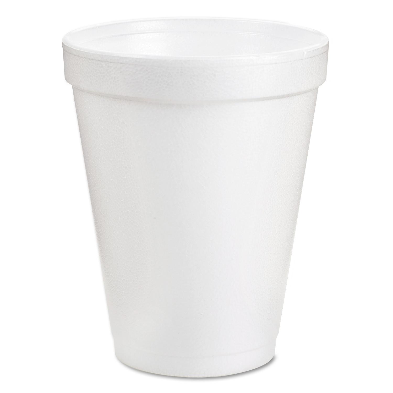 Disposable Cups - Styrofoam - 8oz (1000/cs)