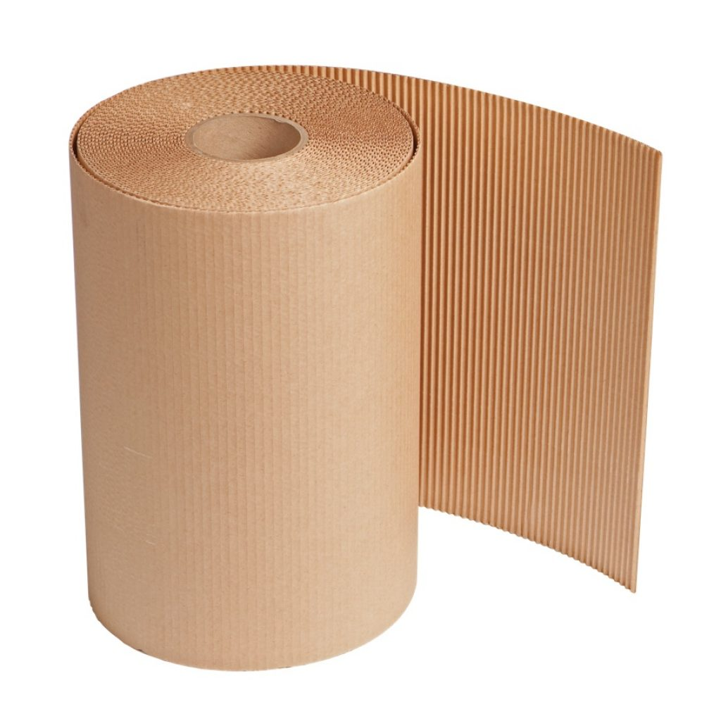 """Singleface Corrugated Roll - 18"""" x 250'"""