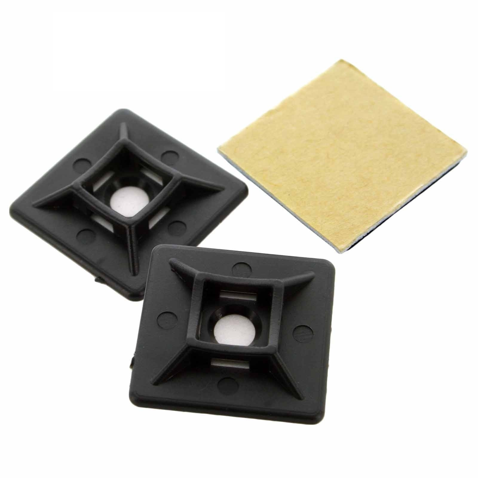 "3/4"" Cable Tie Mount - Adhesive"