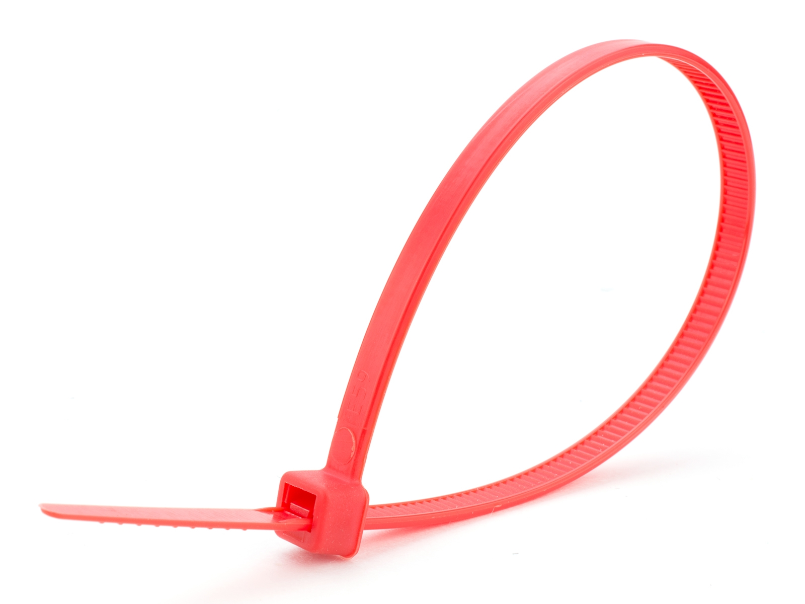 "Cable Ties - 4"" Red"