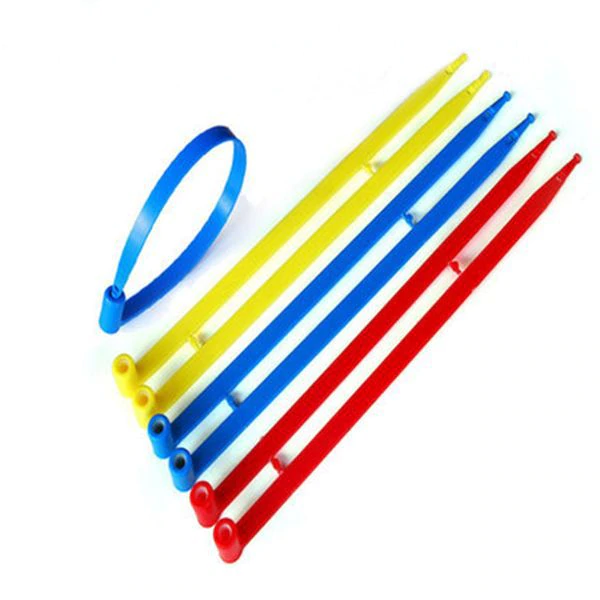 Cargo Seals - Plastic - Red (10/strip- 1000/cs)
