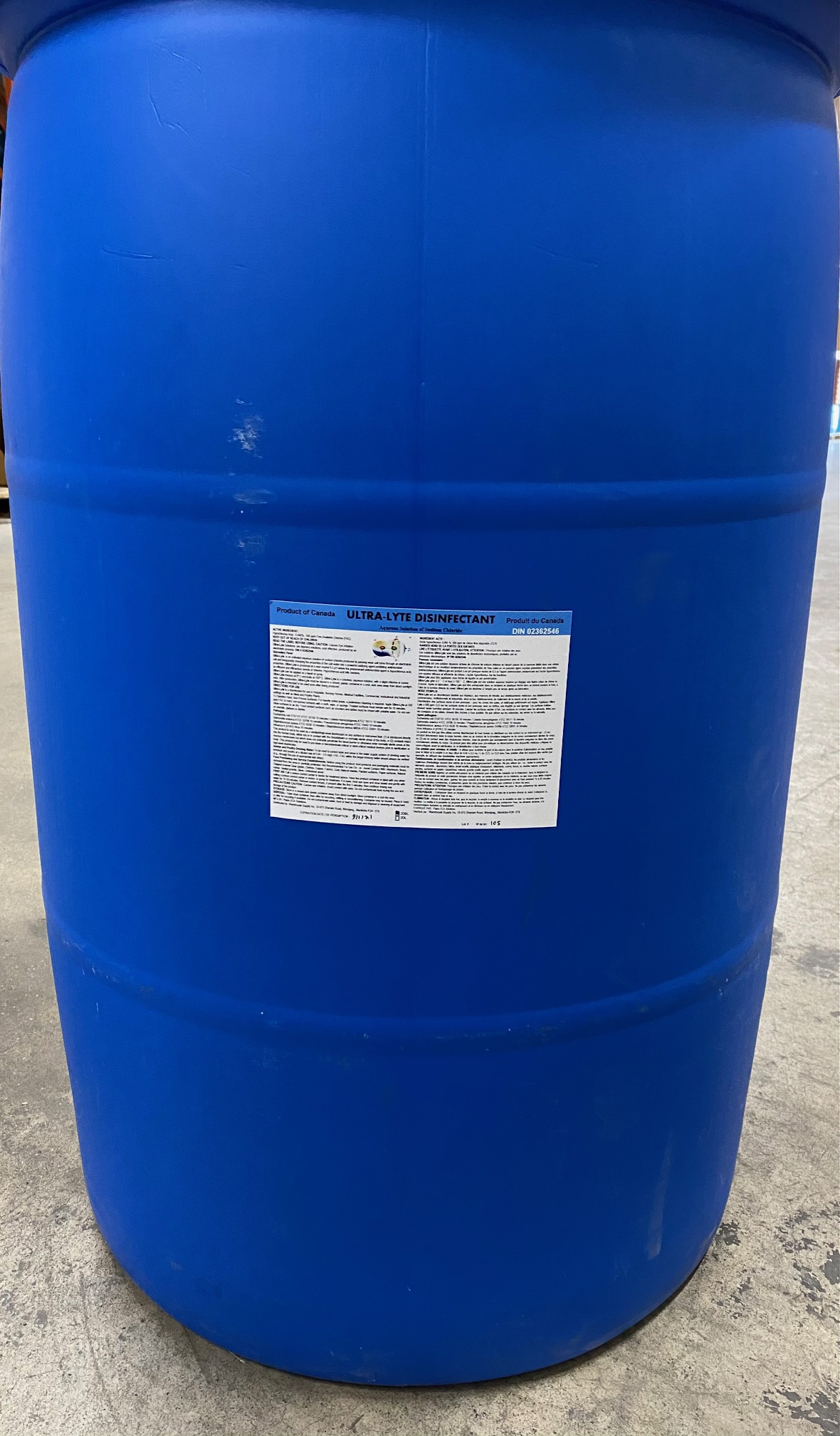 Anolyte 500 208 Litre Drum (55 gallon)