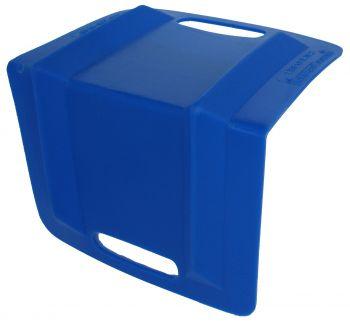 "Plastic Edge Protector - Blue 8 1/2"" x 8 1/2"" x 10"""