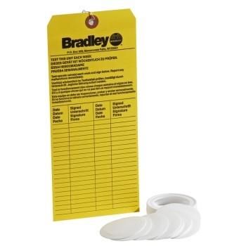 Eyewash Kit for Bradley Station (Cap, 9 liners, tag)