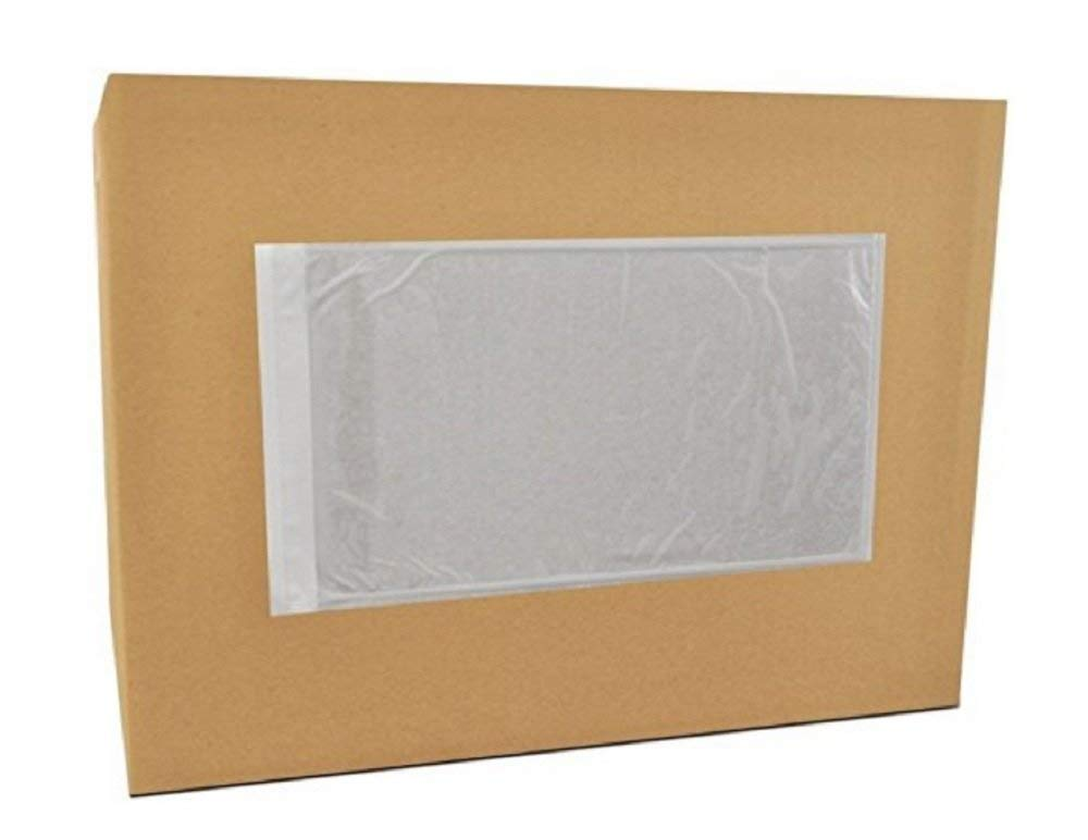 "Packing List Envelopes - Clear - 5.5"" x 10"" (1000/box)"