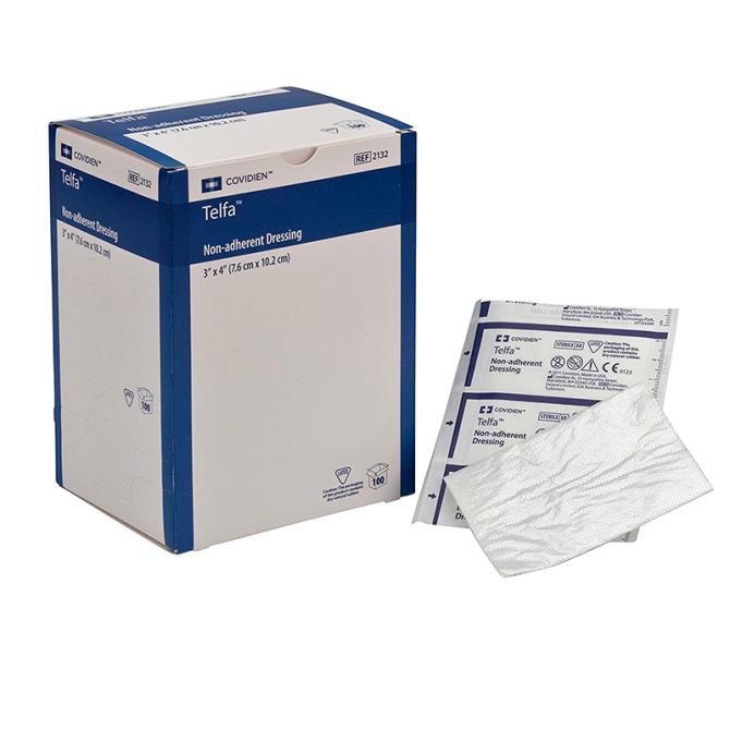 Telfa Pads - Non adhesive - 7.5 cm x 10 cm