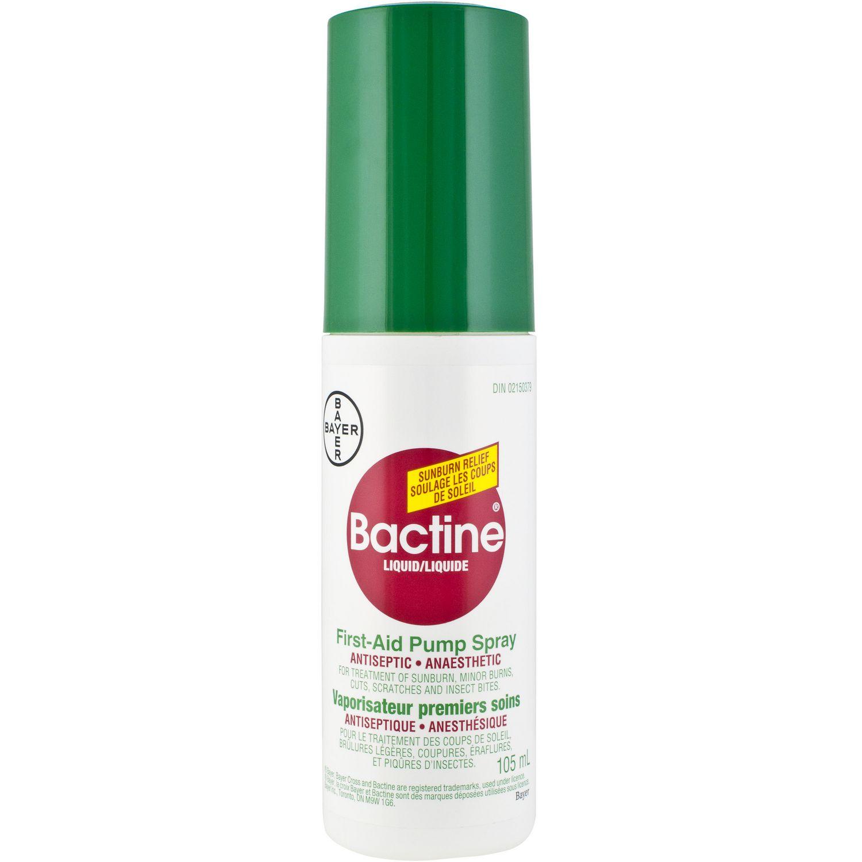 Bactine Liquid Anti Bacteria Spray (105 ml)