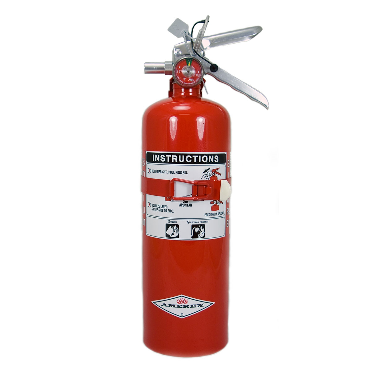 2.5 lb 'ABC' Dry Chemical Fire Extinguisher for vehicles