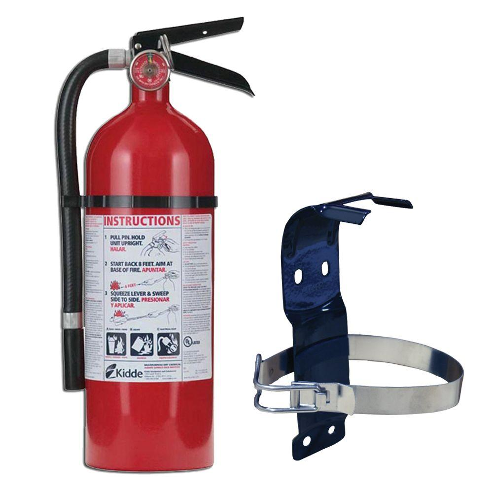 Fire Extinguisher with Bracket - 5 lb