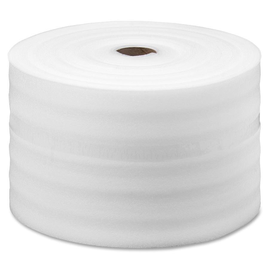 "Foam Roll - 1/8"" x 60"" x 550' - Slit to 30"", Perforate 34"" (2 rolls at 30"")"