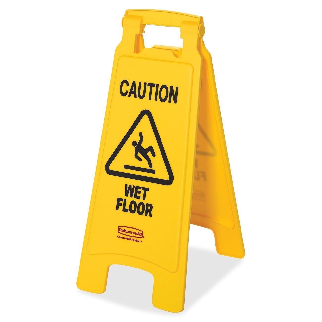 Floor Sign - Caution Wet Floor