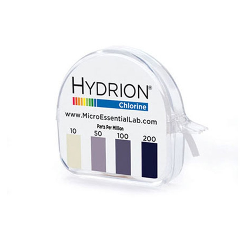 Chlorine Test Strips - Hydrion
