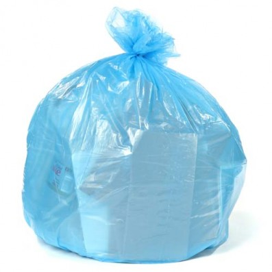 "Garbage Bag - Recycling Can Liner - Blue - 36x50"" (200/cs)"