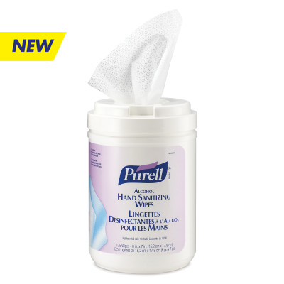 PURELL Hand Cleaner - PUR9031-06-CAN-0 (175 wipes/can6/cs)