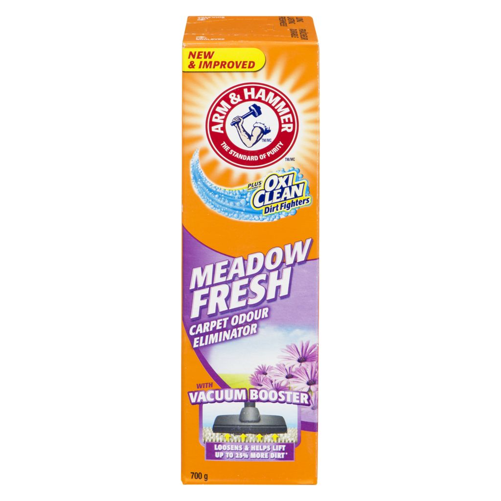 Carpet Cleaner/Deodorizer - Meadow Fresh scent (900 g)