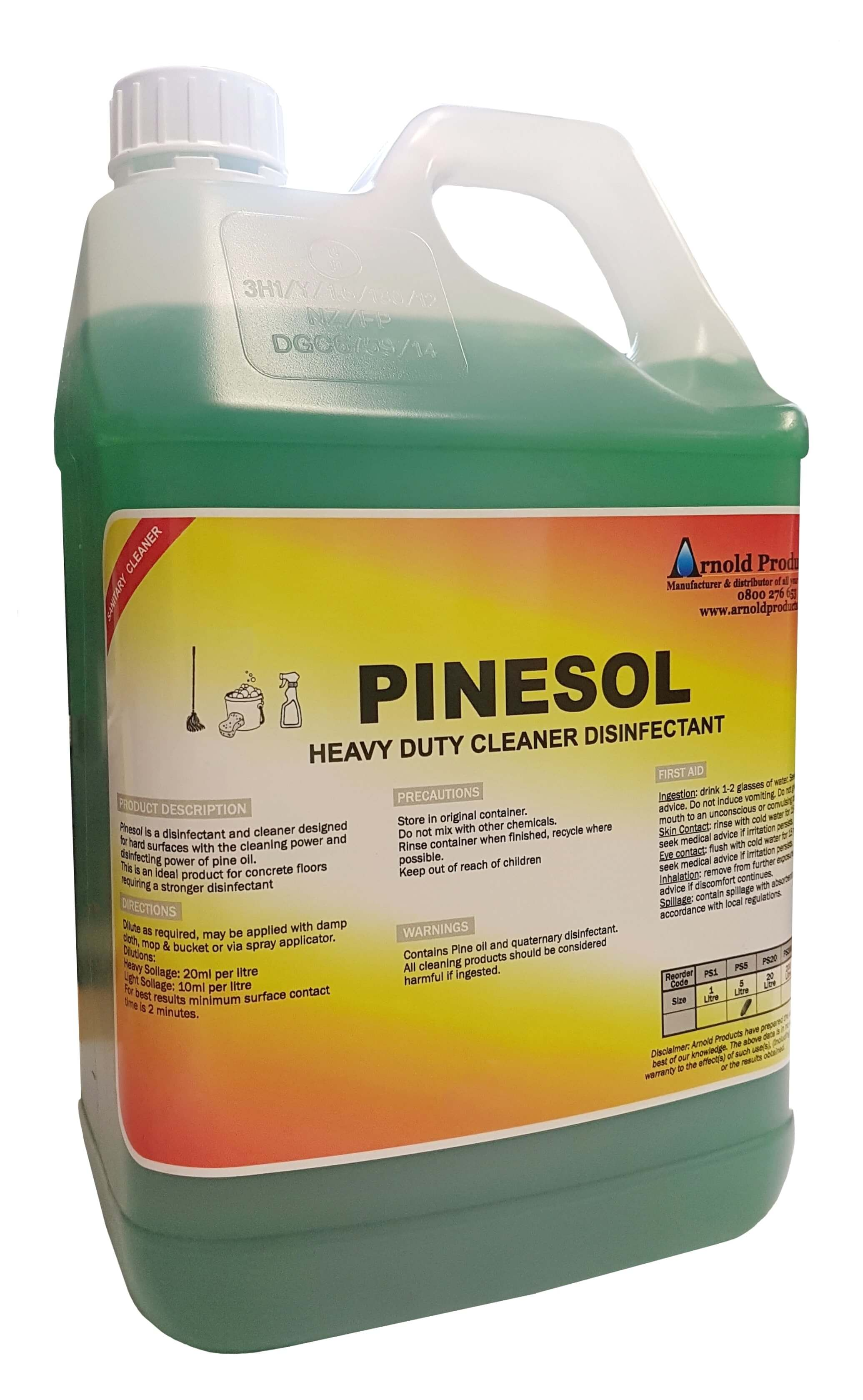 Pine Scented All Purpose Cleaner (4 Litre)