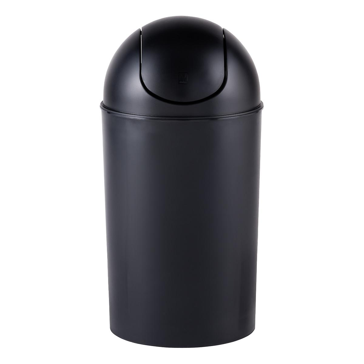 Garbage Can with Swing Lid
