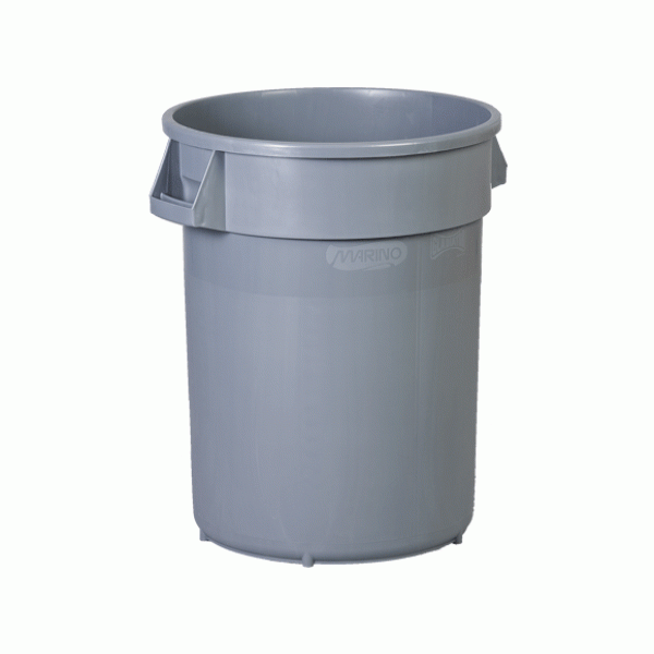 "Slim Garbage Can 23 Gallon, 22 x 11 x 30"""
