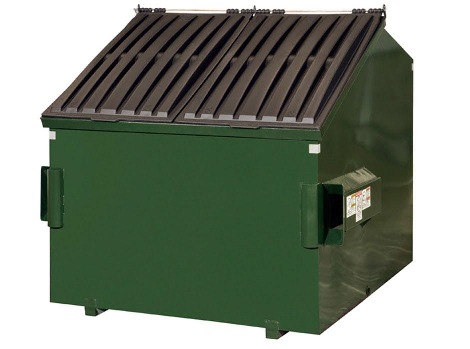 Garbage Dumpster - 6 cubic yard