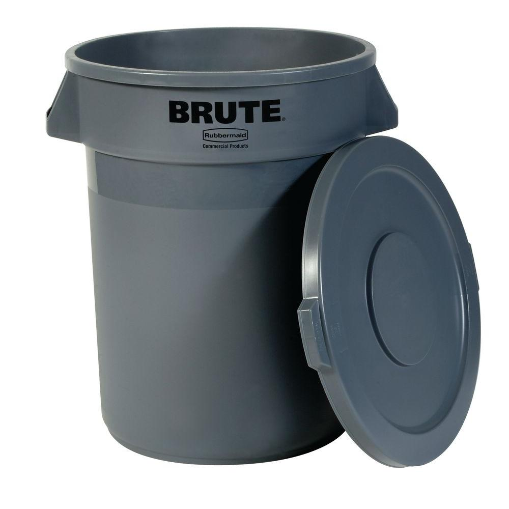Rubbermaid Brute Garbage Can - Grey (20 gallon)