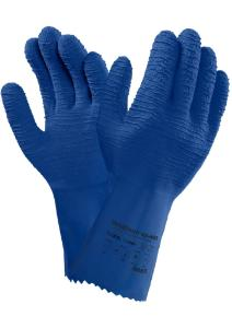 Gloves - VersaTouch® 62-401 Natural Rubber Latex Glove - Blue -2XL - (12/pk)