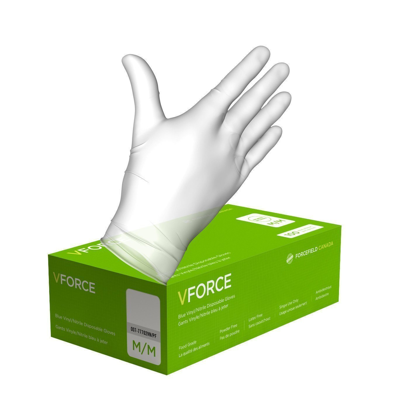 Gloves - Vinyl - Powder Free - Large (100/box)