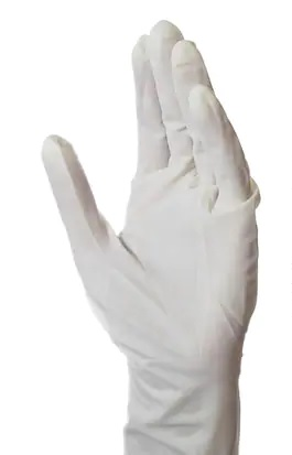 Gloves - White Latex (Large, 100 /b)