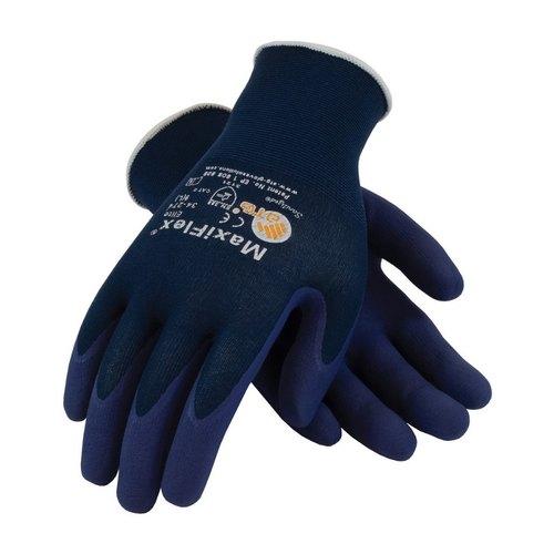 Gloves - Maxiflex Elite - Navy Blue (Medium, Size 8)
