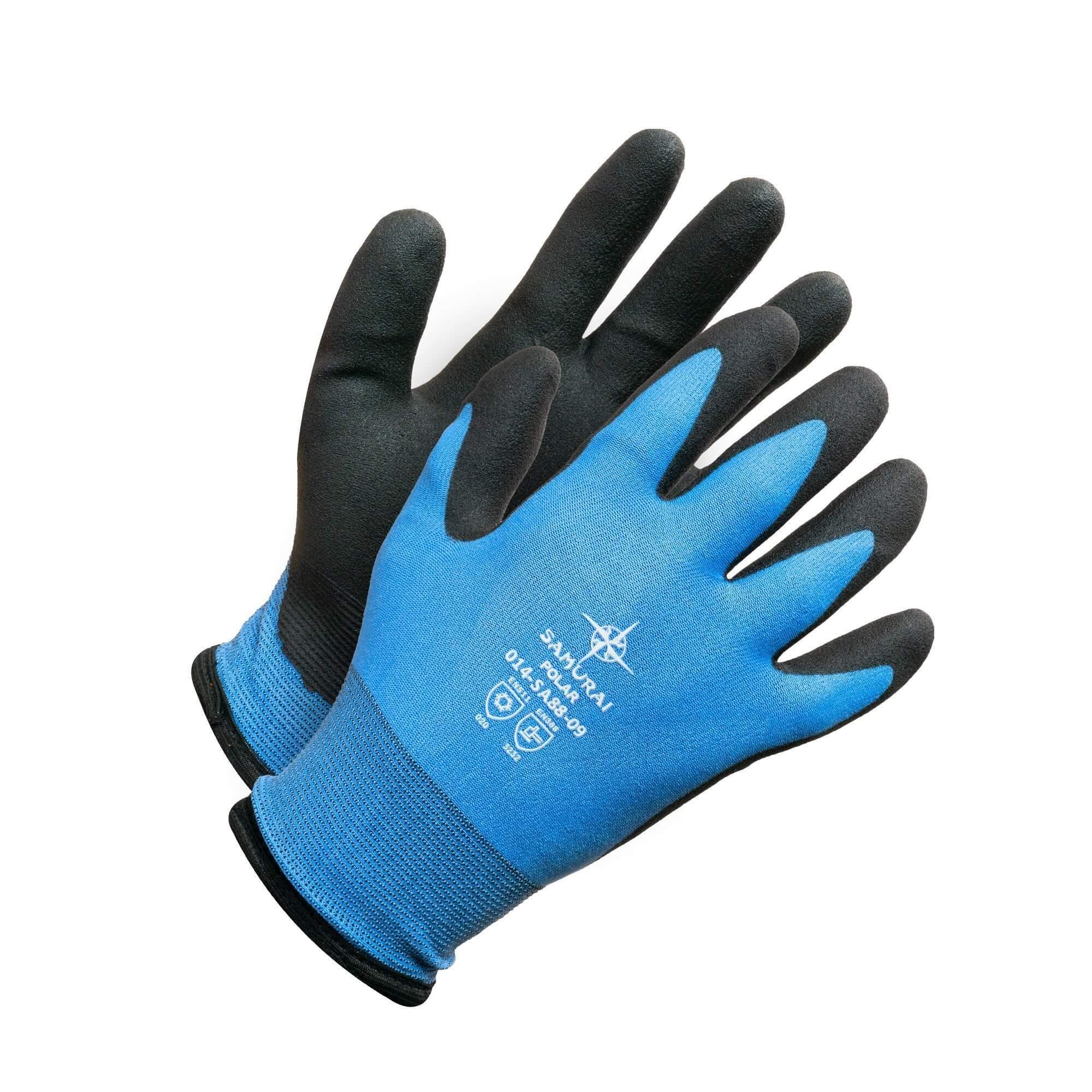 Glove - Samurai Polar PVC Coated - Lined - Large