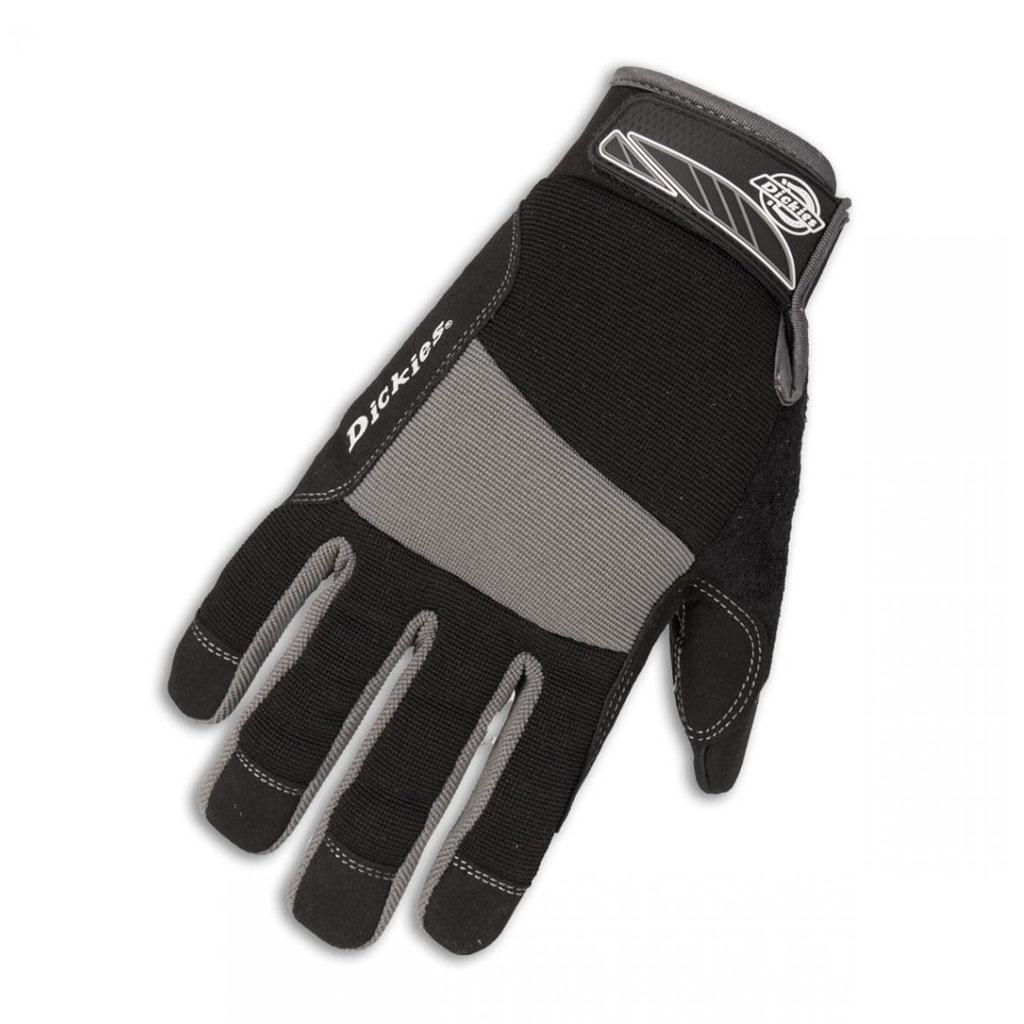Gloves - Dickies High Performance Mechanics Glove - Blk/Gry - L