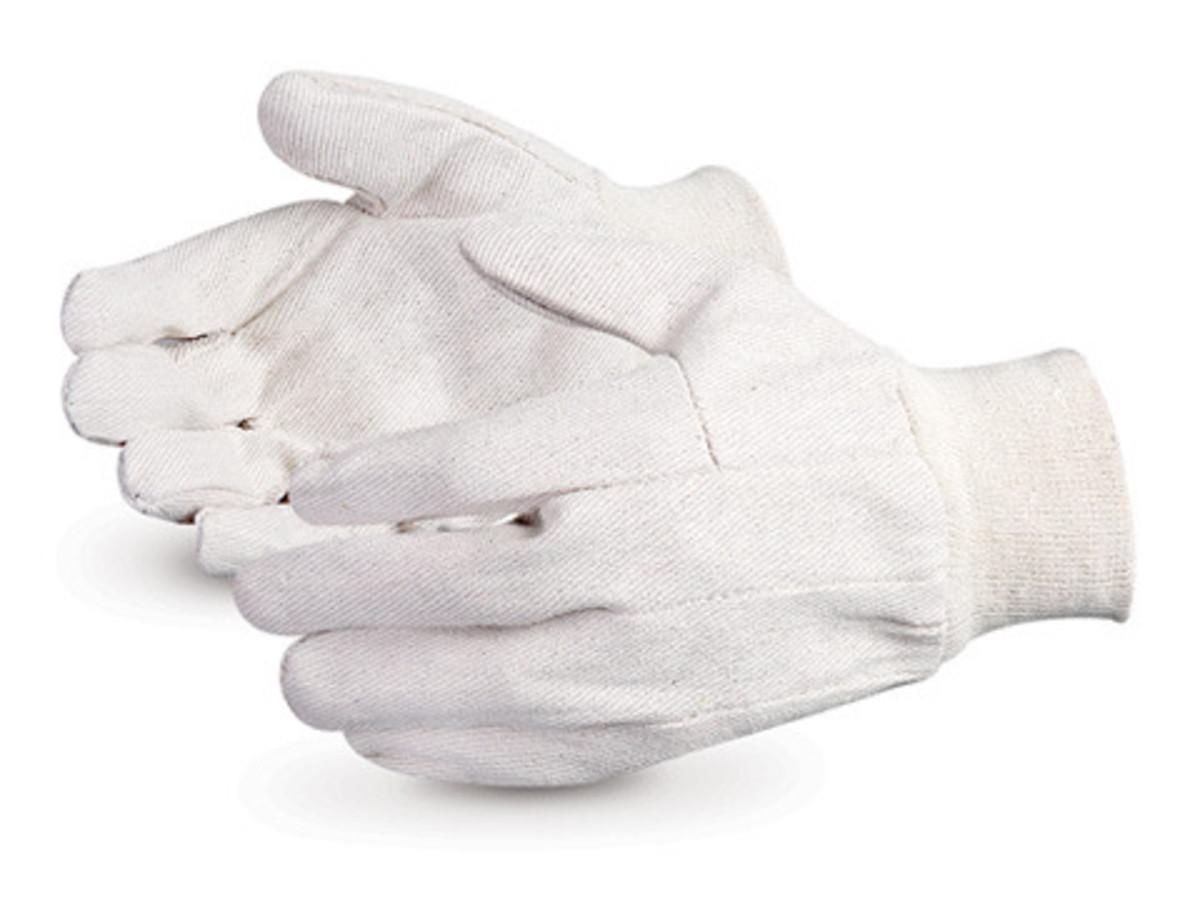 Gloves - Cotton/Canvas Split Leather 8KL