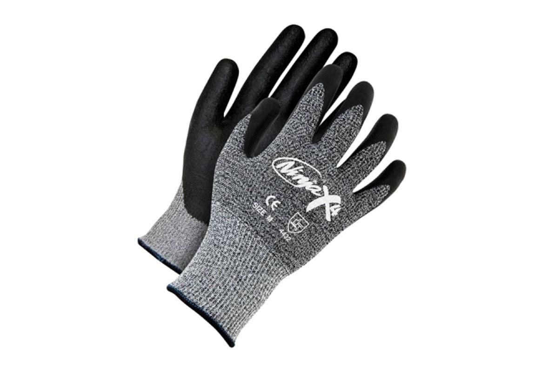 Gloves - Ninja X4 Palm Coated Cut Resistant Glove - L