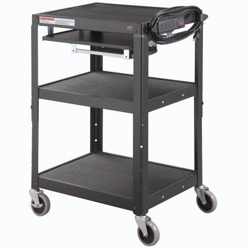 """Computer Cart 24"""" x 18 334541BK"""