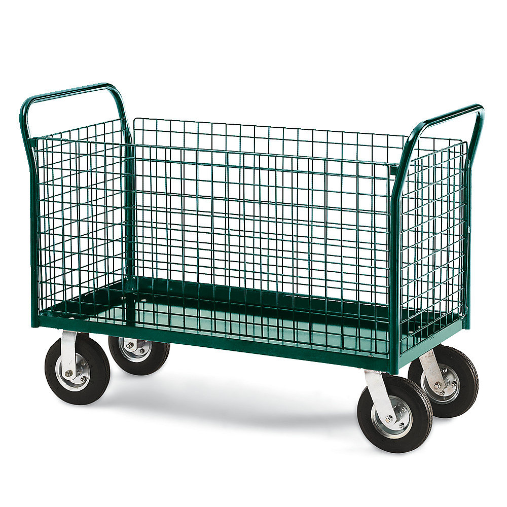 """Platform Truck - With Wire Side Panels - 24"""" x 48"""""""