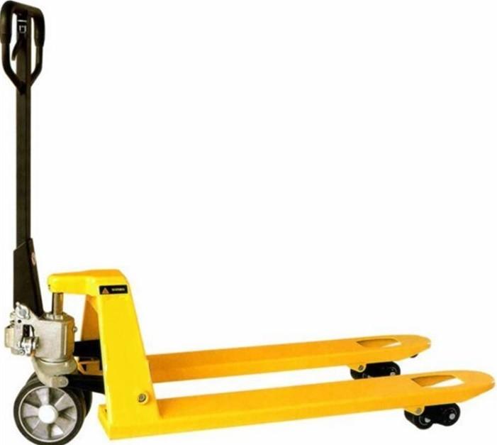 "Pallet Jack w/Rubber Wheels - 27"" x 48"" (5500 lb capacity)"